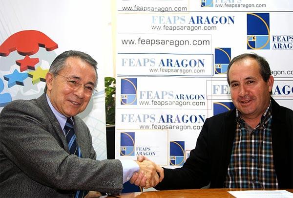 Convenio Solidar y FEAPS Aragón